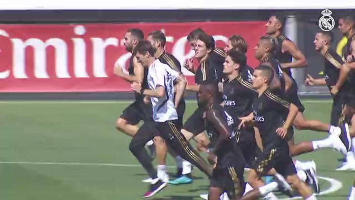 El Real Madrid regresa a los entrenamientos en Valdebebas