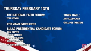 Caucus events Leading up to Caucus Day 2020 – VIDEOl
