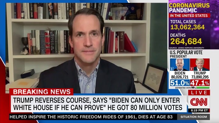 Himes: January 20th Biden Is President Regardless of What 'Trump Says or Tweets'