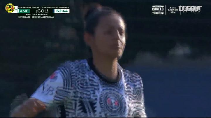 América Femenil marca tres goles en menos de cinco minutos y gana el Clásico Capitalino