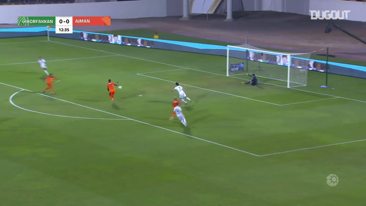 Arabian Gulf League: Ajman 1-1 Khor Fakkan
