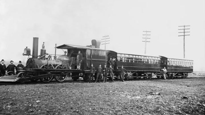 101 Objects: John Bull Locomotive