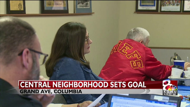 Columbia's Central Neighborhood set goals for safety