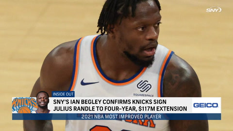 How does Julius Randle's extension impact Knicks?