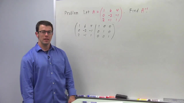 The Inverse of a Square Matrix - Problem 3
