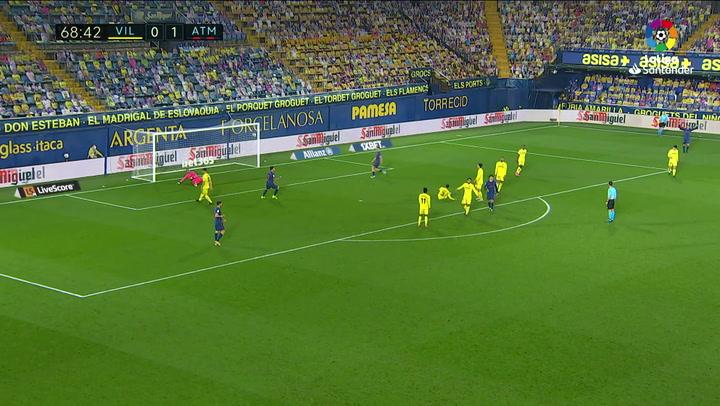 Gol de Joao Félix (0-2) en el Villarreal 0-2 Atlético