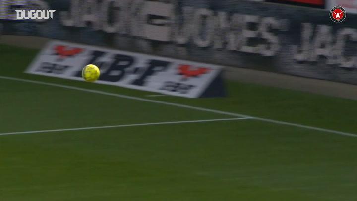 Alexander Sørloth's FC Midtjylland goals