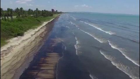 Derrame de hidrocarburos afecta emblemática reserva marina de Venezuela