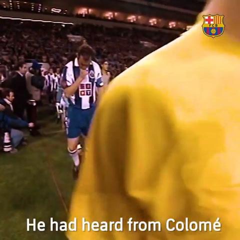 15 años del debut de Messi en el Barcelona