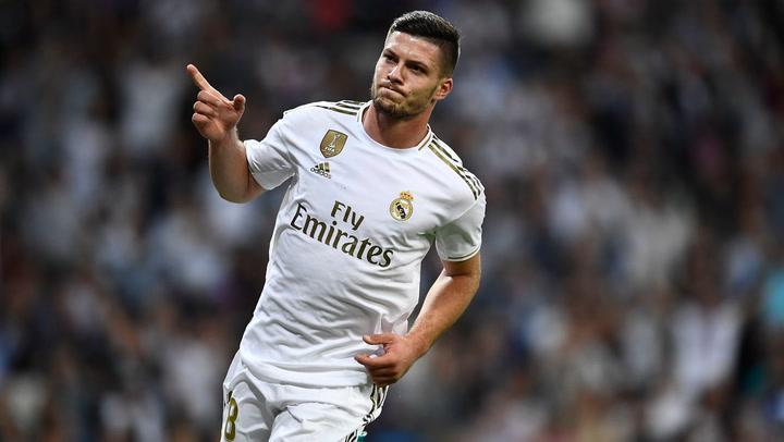 Los números de Jovic con el Real Madrid