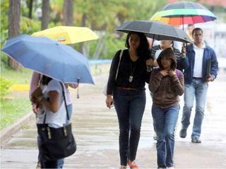 Lluvias y bajas temperaturas continuarán este lunes en Honduras