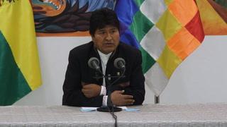Evo Morales denuncia que está en curso un