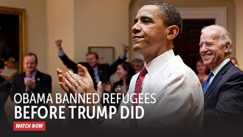 Obama Banned Refugees Before Trump Did