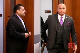 Las Vegas detective, police association director plead not guilty – VIDEO