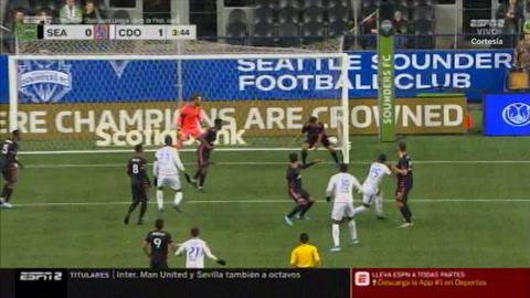 Gol del Elvin Casildo ante el Settle Sounders (Concachampions)