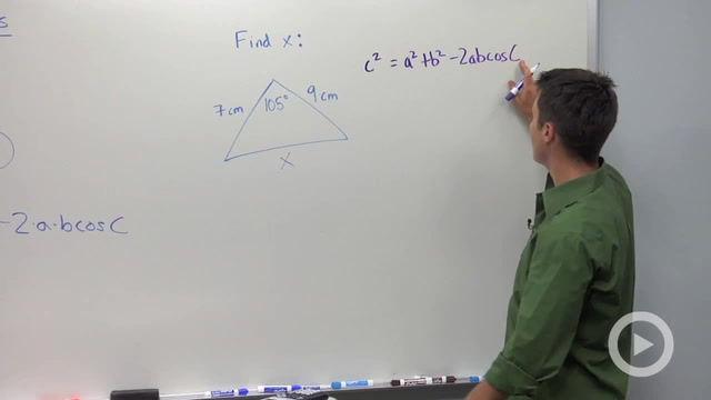 The Law of Cosines - Problem 1