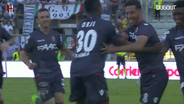 Saphir Taider gives Bologna the lead against Juventus