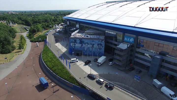 Incredible drone footage of Veltins-Arena!