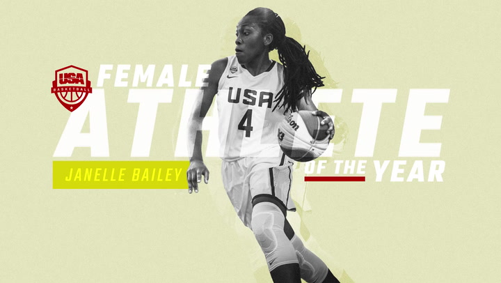 USA Basketball Female Athlete Of The Year - Janelle Bailey