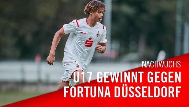 U17 bezwingt Düsseldorf