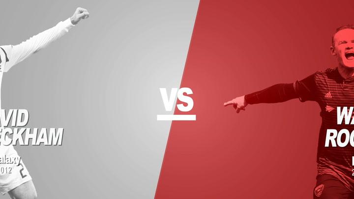 Past Vs Present: David Beckham Vs Wayne Rooney