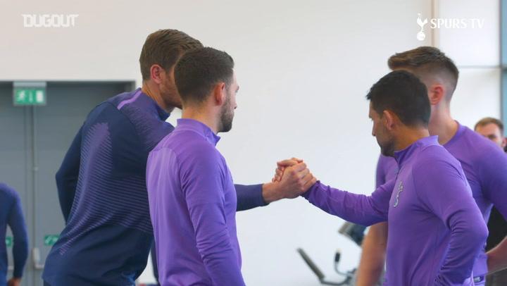Toby Alderweireld and Jan Vertonghen back in training