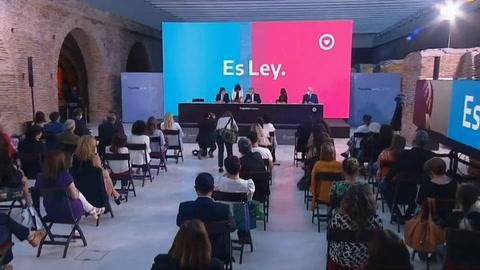Promulgan ley de aborto legal en Argentina