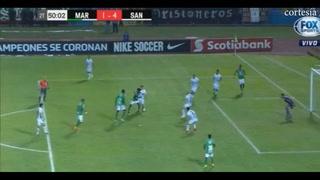 Marathón descuenta ante Santos a través de Marlon Ramírez
