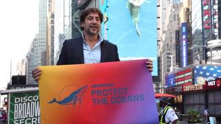Javier Bardem exigió en la ONU un tratado global de los océanos