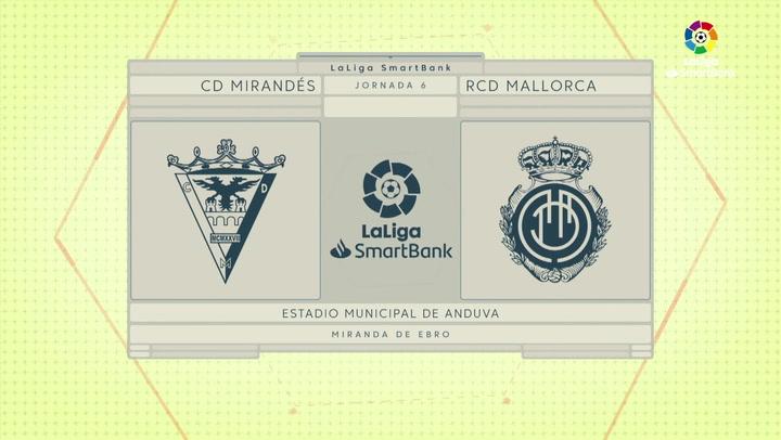LaLiga Smartbank (Jornada 6): Mirandés 0-0 Mallorca