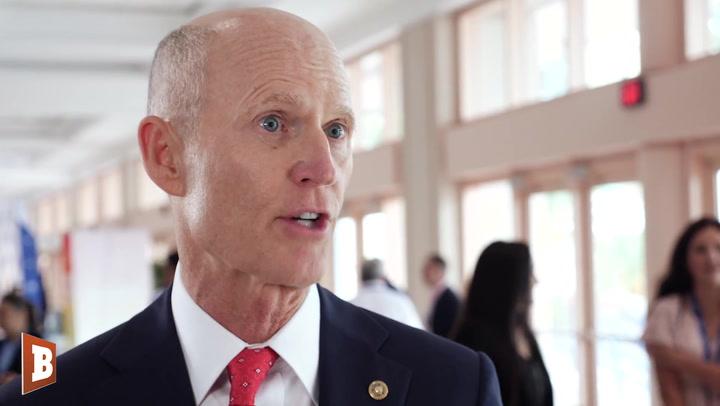¿Dónde Está Joe: Florida Senator Rick Scott Slams Biden For Lack Of Cuba Action