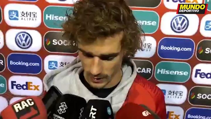 Griezmann tras el Andorra Francia: