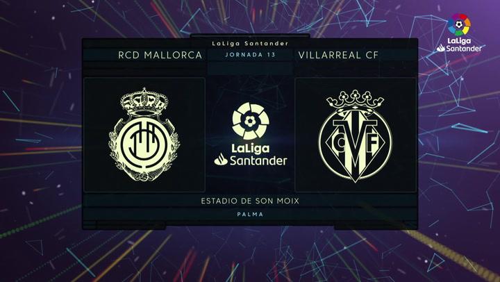 LaLiga (J13): Resumen y goles del Mallorca 3-1 Villarreal