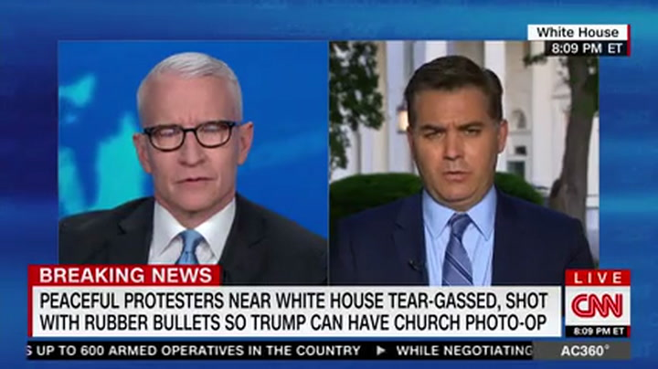 CNN's Acosta: Trump 'Looked Like a Wannabe Dictator'-- 'This Was Bad Reality Television'