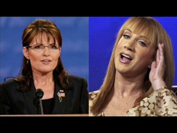 Kathy Griffin Has No Intention Of Leaving Sarah Palin's 16 Year-Old  Daughter Alone