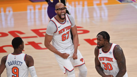 Are the Knicks an improved team after the NBA draft and free agency? | SportsNite