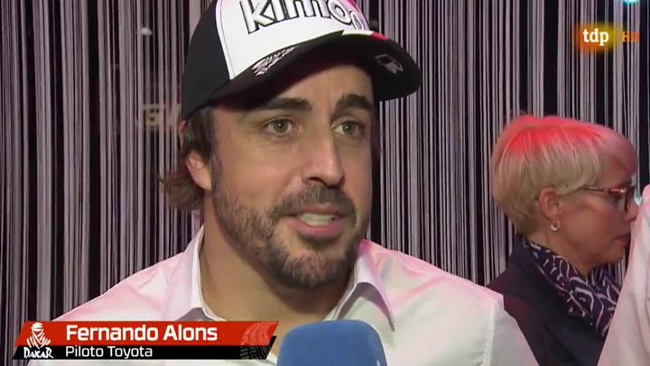"""Fernando Alonso: """"Tengo la sensación de que el Dakar va a ser un rally único"""""""