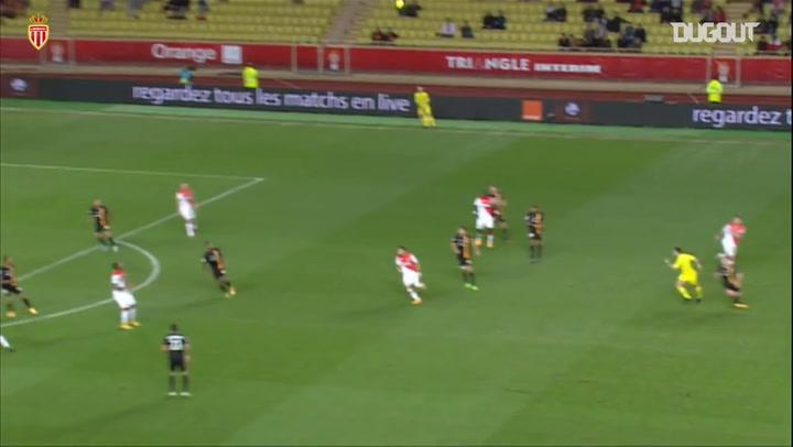 Berbatov and Carrasco secure Monaco win vs Lens in 2014