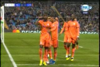 Lyon sorprende en Champions y derrota al Manchester City