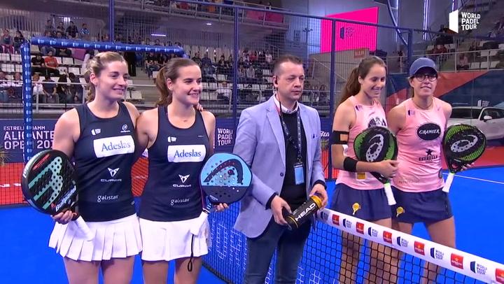 Resumen Semifinal Femenina Salazar-Sánchez Vs Triay-Sainz en el Estrella Damm Alicante