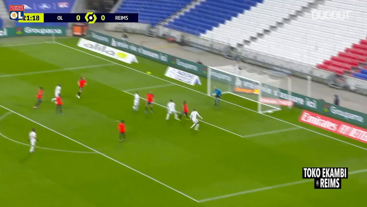 Toko Ekambi's great performance vs Reims