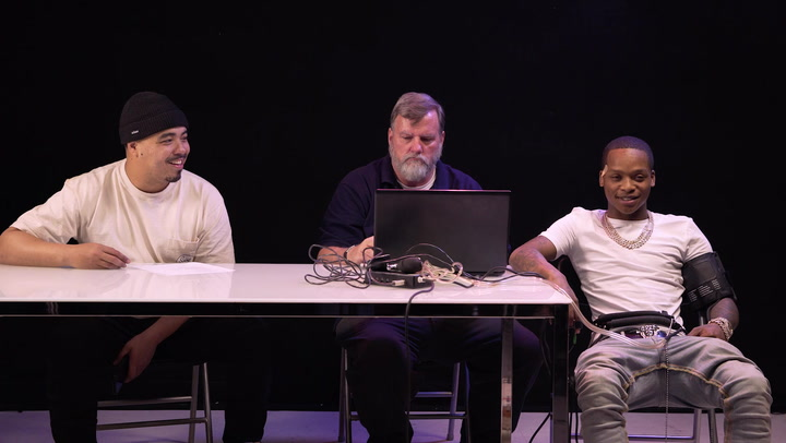 Calboy and His A&R Take A Lie Detector Test: Has He Ever Been Unfaithful?