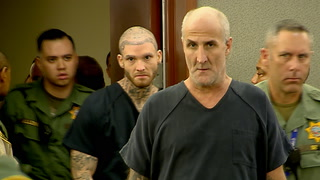 Members of white supremacist prison gang arraigned in Las Vegas – VIDEO