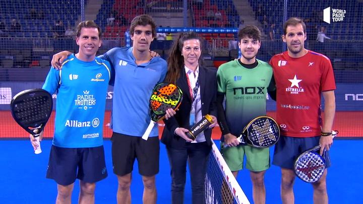 Resumen cuartos de final Paquito-Lebrón Vs Tapia-Juan Martín del Logroño Open