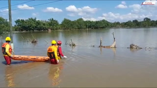 Cuerpo de Bomberos encuentra cadáver flotando tras varios días del paso de Iota