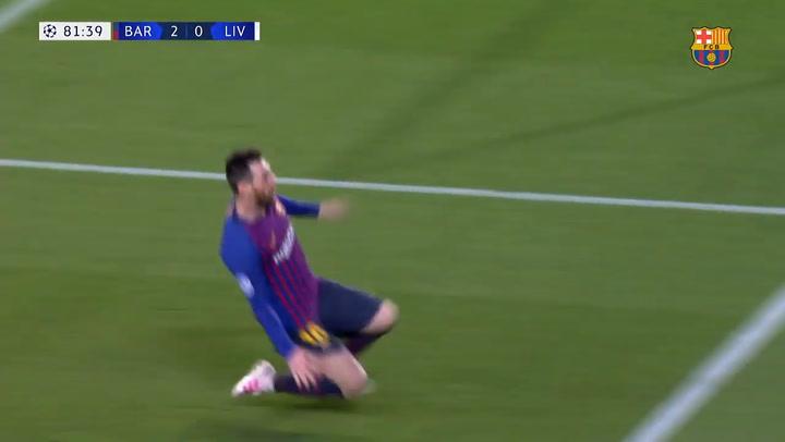El gol 600 de Leo Messi