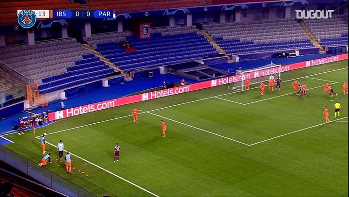 Moise Kean's superb Champions League brace against İstanbul Başakşehir