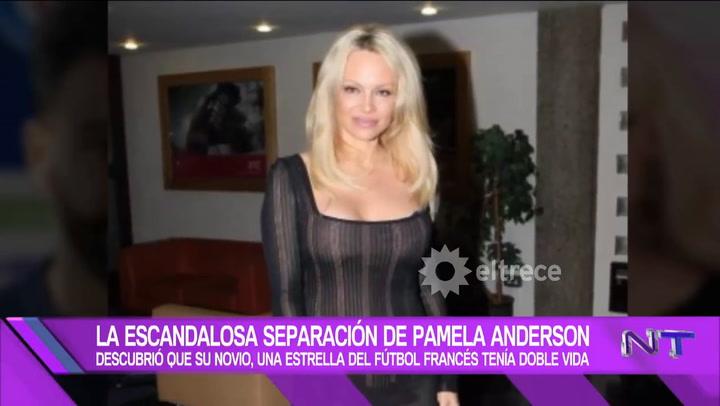 Pamela Anderson se separó de Adil Rami, tras descubrir que mantenía una doble vida