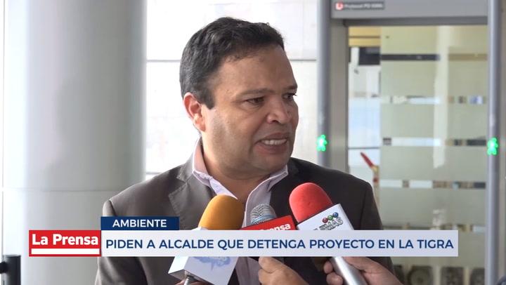 Piden a alcalde que detenga proyecto en La Tigra - Diario La - La Prensa de Honduras