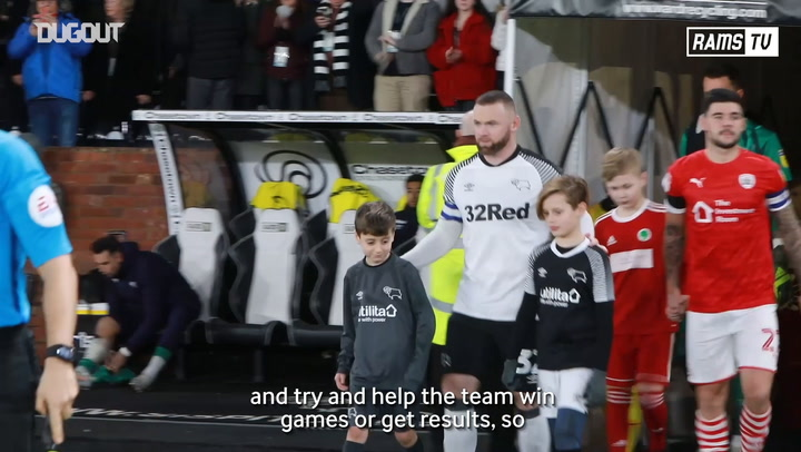 Wayne Rooney assesses the start of his Derby career